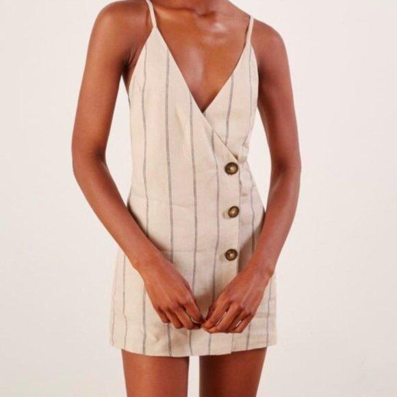 Reformation Cayman Dress, Size XS, NWT, Positano